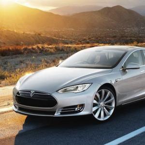 White 2014 Tesla Model S Wallpaper 03 Diversity Auto Films