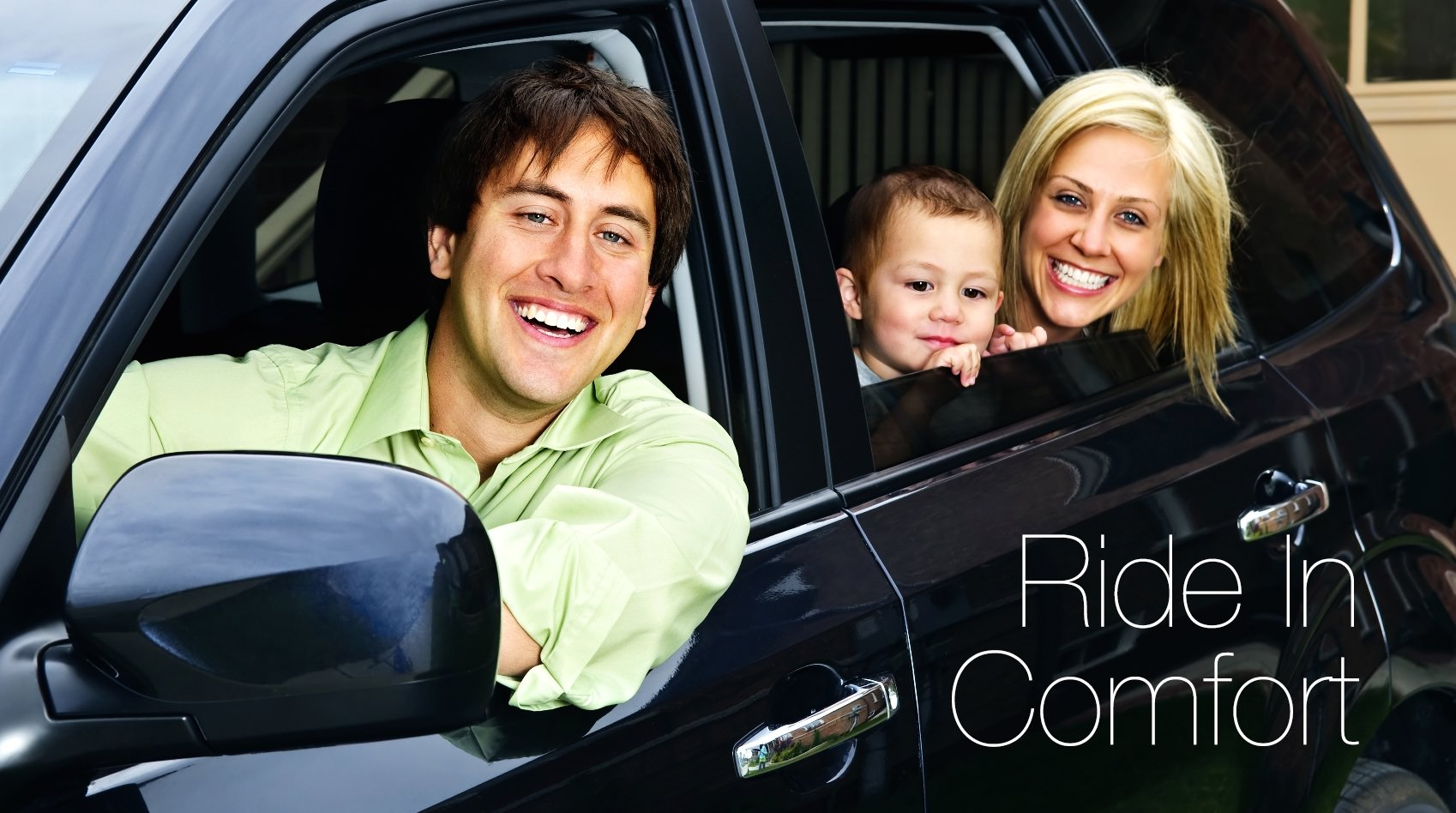 A Family Ride In Comfort